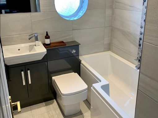 Bathroom Project One